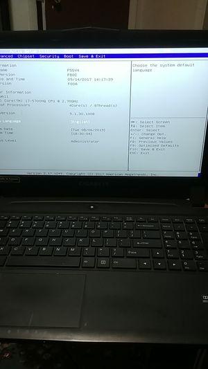 Gigabyte P55 Gaming laptop for Sale in Warner Robins, GA