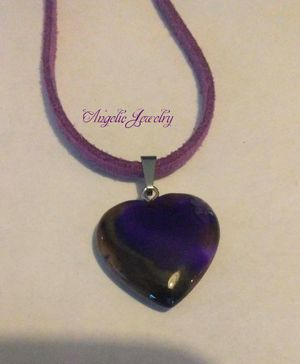 Purple Agate Necklace for Sale in Frederick, MD