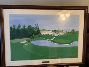 Golf painting for Sale in Houston, TX