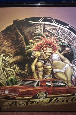 Aztec Pride Wall Art 15x20 for Sale in Bell Gardens,  CA