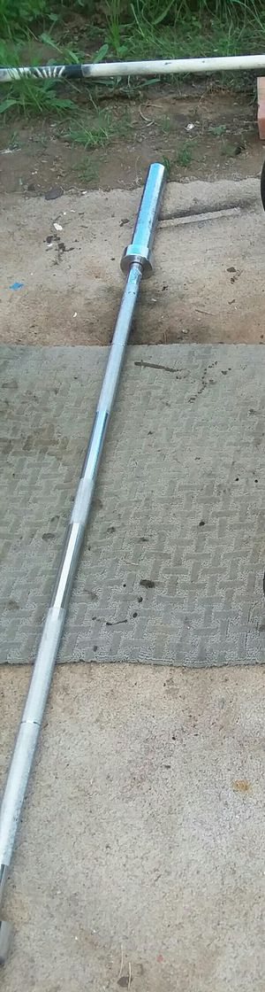 7ft Olympic weight bar/pending pick up for Sale in Lakeside, CA