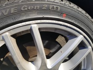 Selling my race line rims with tires for Sale in WA, US