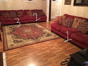 Couches 3 pieces $500 for Sale in Dearborn, MI
