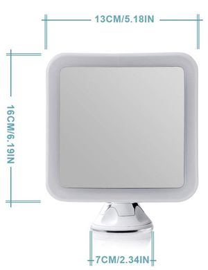 7X Magnifying Lighted Vanity Makeup Mirror with Natural White LED, 360 Degree Swivel Rotation and Locking Suction for Sale in The Bronx, NY
