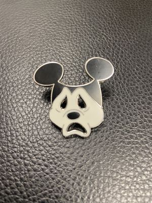 Mickey Tragedy Mask Sad Face Mickey Mouse Enamel Pin for Sale in Las Vegas, NV