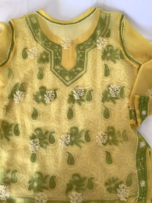Indian Chikankari Embroidery top for Sale in Hilliard, OH