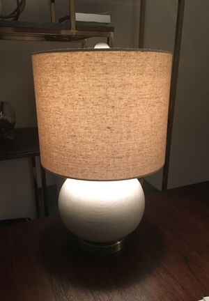 Beige lamp for Sale in New York, NY