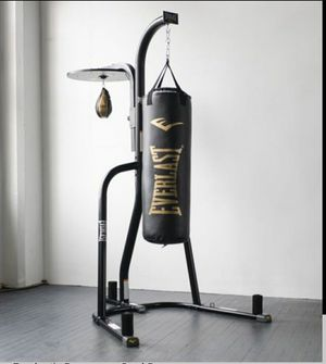 Everlast Dual Bag and Stand. Punching Bag NEW for Sale in Queens, NY
