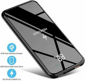 Wireless Portable Charger, Hokonui Wireless Power Bank 10000 mAh with LCD Screen for Sale in OH, US