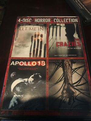 4 scary / horror movies for Sale in Riverside, CA