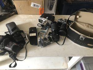 Vintage Camera / Lens Lot (Selling all together) for Sale in Riverside, CA