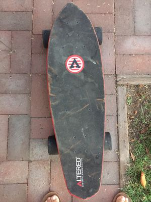 Altered electric skateboard for Sale in Downey, CA