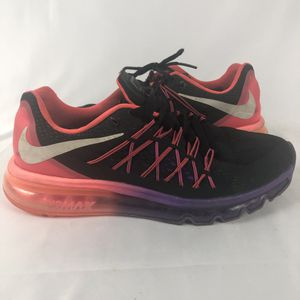 Nike Air Max 2015 Women's Running Shoes Hyper Punch 698903-006 Women's 10 for Sale in Orlando, FL