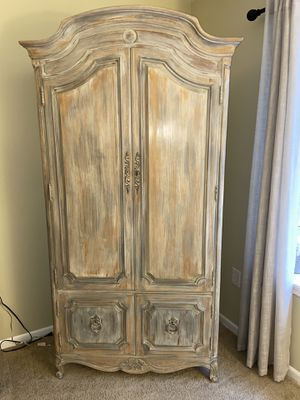 Refinished Armoire dresser for Sale in New Britain, PA