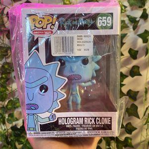 Funko Pop! Animation: Rick and Morty - Hologram Rick Clone #659 Vinyl Figure for Sale in Alexandria, VA