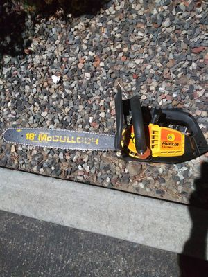 McCulloch Mac-cat chainsaw for Sale in Kennewick, WA
