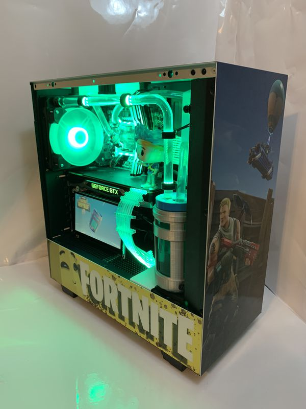 FortNite themed Epic gaming pc!