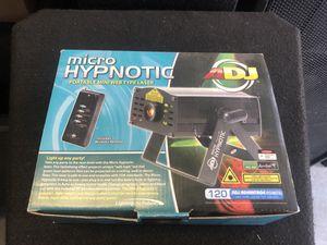 NEW ADJ Micro Hypnotic Portable Lazer for Sale in Bay City, MI