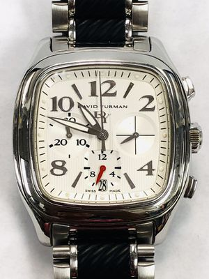 Authentic David Yurman Chrono T305-CST 41mm Automatic Watch for Sale in Miami, FL