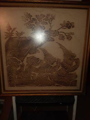 Collectible Tai temple rubbing for Sale in Lawrenceville, GA