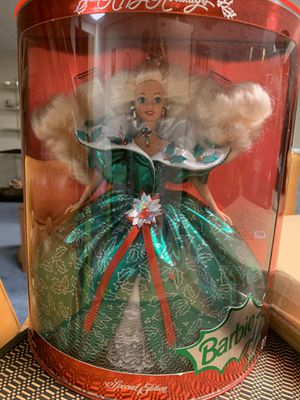 Limited edition Holiday Barbies for Sale in Massillon, OH