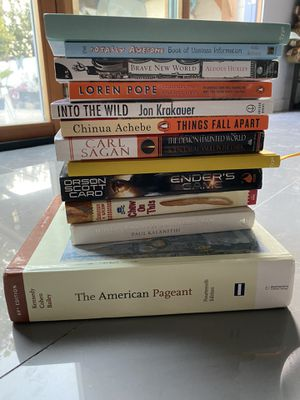 12 books for $10 for Sale in El Segundo, CA