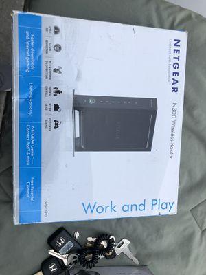 Netgear N300 wireless router for Sale in Hollister, CA
