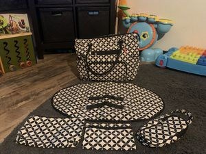 7 piece SoHo diaper bag set for Sale in Spring Valley, CA
