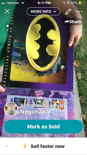 Batman collectible action figure for Sale in Allison Park, PA