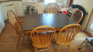 Table and 6 chairs for Sale in Boston, MA
