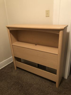 Twin size bed frame with 3 drawers built in for Sale in Joliet, IL