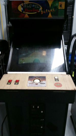 Arcade Game World Class Bowling Deluxe video game for Sale in Exeter, RI