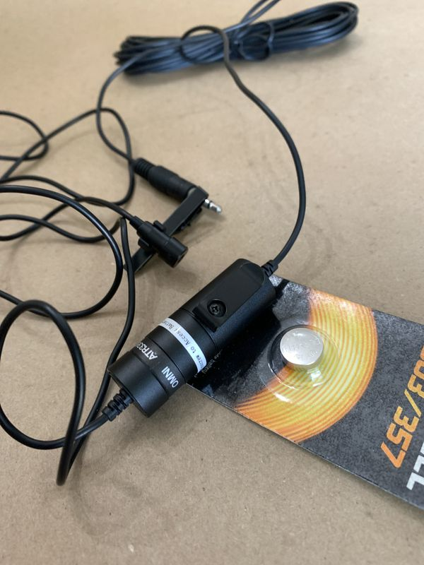 Audio-Technica omin lavalier mic