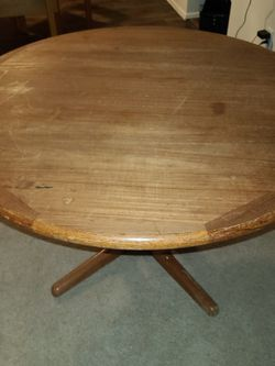 Circular Leaf Table for Sale in Bellevue,  WA