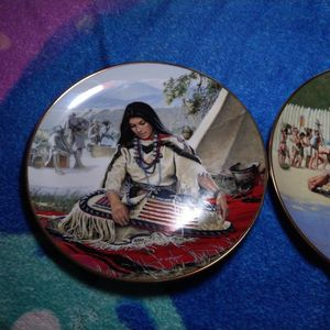 Noble American Indian Women Plate Collection By David Wright for Sale in Odem, TX