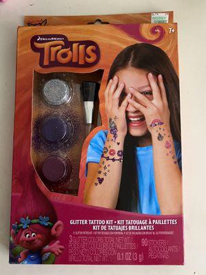 Trolls glitter tattoos for Sale in Las Vegas, NV
