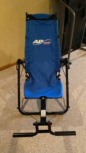 Ab workout chair for Sale in Broadview Heights, OH