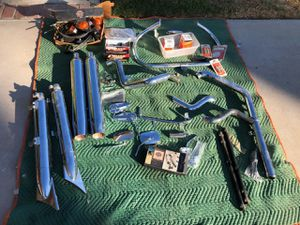Harley Davidson pipes, cams, handle grips, and more for Sale in Corona, CA