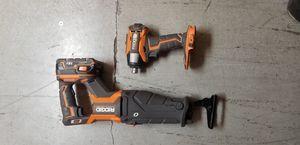 Rigid Hammer Drill and Sawzall for Sale in Phoenix, AZ