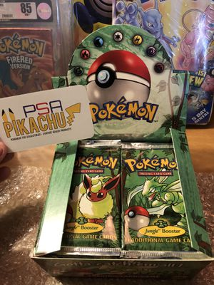 Pokemon sealed old packs 1999 for Sale in Henderson, NV