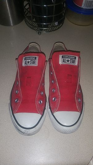 Converse Red Tennis Shoes for Sale in St. Louis, MO