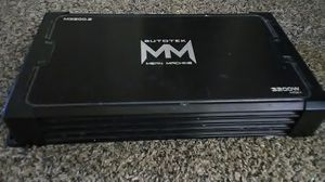 Autotek M3200.2 3200W Max Mean Machine Series 2-Channel Car Audio Amplifier for Sale in Merced, CA