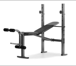 BRAND NEW IN HAND Weider XR 6.1 Multi-Position Weight Bench with Leg Developer and Exercise Chart for Sale in Silver Spring, MD