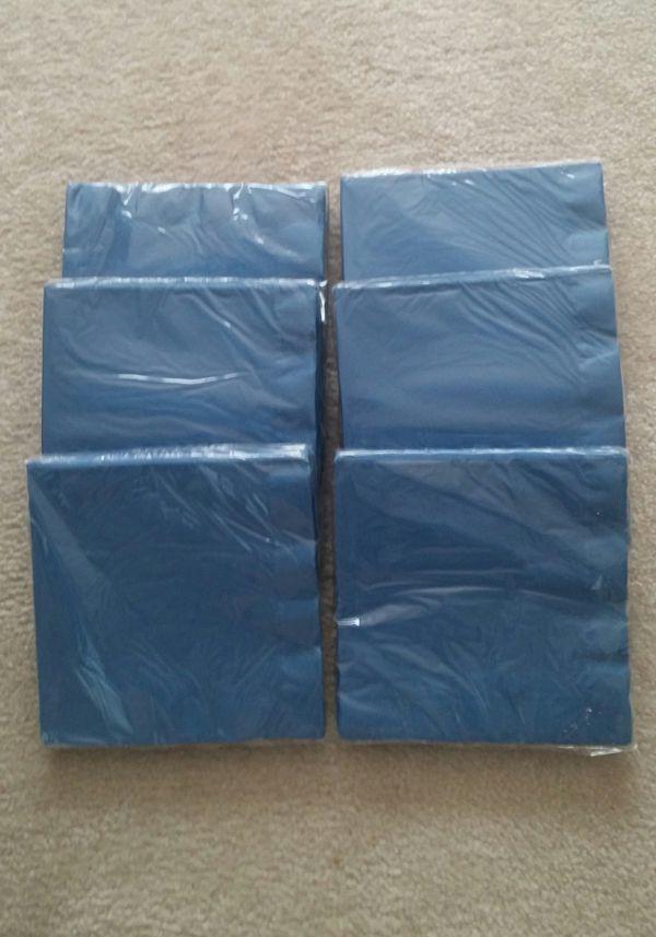 True Blue Paper Dinner Napkins/150 Count