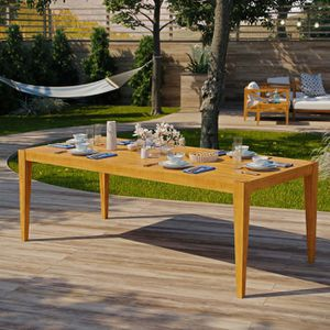 """Northlake 85"""" Outdoor Patio Premium Grade A Teak, Dining Table, Natural for Sale in Cutler, CA"""