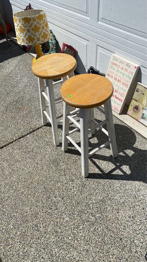 Wooden stools for Sale in Edgewood, WA