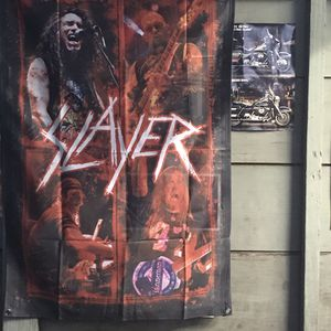 Slayer Band Photo Original members 3ftx2ft for Sale in Los Angeles, CA