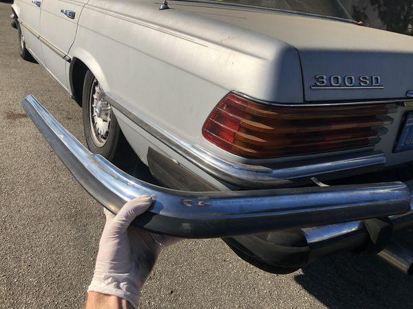 Mercedes W116 Rear Upper Bumpers