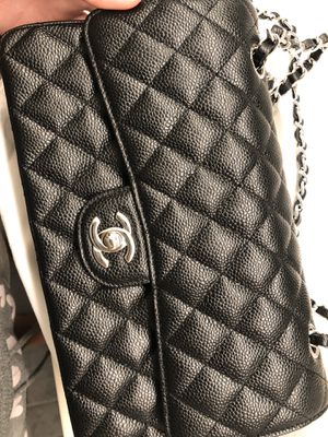 Authentic Used Classic Chanel Black Caviar for Sale in Elk Grove, CA