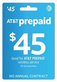 AT&T prepaid card e-mail $45 for Sale in Chicago, IL